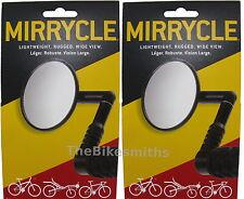 2 PACK Mirrycle Mountain Mirror Adjustabl Hybrid Recumbent Bike Urban Bicycle PR