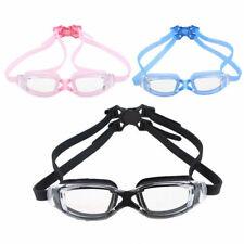 Adjustable Adult Swimming Goggles Watertight Anti-Fog Swim Eyewear Eye Glasses