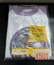 Vintage New E.T. The Extra Terrestrial 3/4 Sleeve Jersey Sears Girls L 14