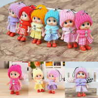 10Pcs Kids Toy Soft Interactive Baby Dolls Toy Mini Doll Mobile Phone Acces U8G5