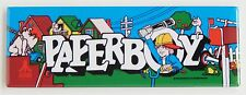 Paperboy Marquee FRIDGE MAGNET (1.5 x 4.5 inches) arcade video game header