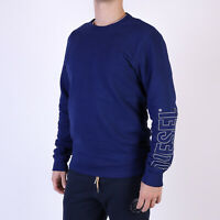 Diesel Herren UMLT Willy Blau loungewear sweatshirt S Small