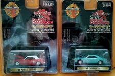 (2) RACING CHAMPIONS MINT EDITION MUSCLE CARS W/REAL RUBBER TIRES-1 OF 9,999-NIP