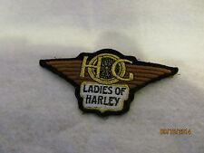 Ladies of Harley HOG Patch