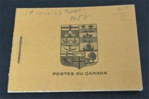 nystamps Canada Stamp # BK4 Mint OG NH UN$700 French   L30y3050