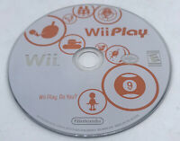Wii Play (Nintendo Wii, 2007)- Disc Only
