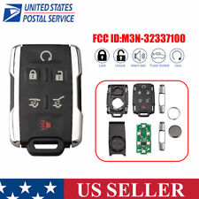 For 2017 2016 2018 Chevrolet Tahoe Remote Start Key Fob M3n 32337100 Fits