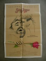 "Yes Giorgio Luciano Pavarotti Kathryn Harrold 1982 original movie poster 27X41"""