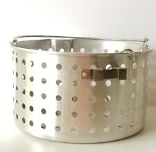 Replacement Seafood 80-Quart Aluminum Brew Steam Boil boiling  Basket