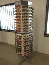 Brand New sunglasses Rotating floor display rack holds 144 pairs