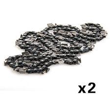 """2 X 20 """"Joint Chaîne de Scie Tronçonneuse Espacement Bricolage 76 Outil à Main"""