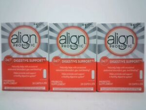 Align Probiotic 24/7 Digestive Support Supplement 3-Pack - 84 Capsules Exp: 1/24
