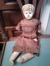 Antique German head doll