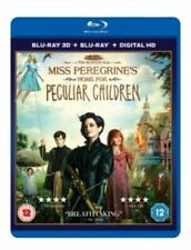 Miss Peregrine's Home for Peculiar Children  3D + 2D + Digital  (Blu-Ray)   New