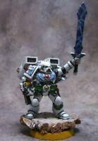 Warhammer 40k Space Marines Blood Angels Jump Pack Sanguinary Priest Metal OOP
