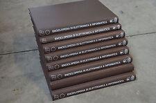 ENCICLOPEDIA DI ELETTRONICA & INFORMATICA- gruppo ed. Jackson 1983- 8 volumi