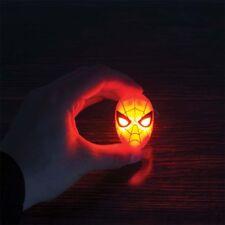 Marvel Comics Spiderman Mask LED Keyring Torch Light Up Stocking Filler Gift