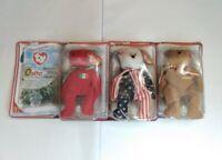 Ty Beanie Babies, McDonalds, International Bears II, 2, Osito, Germania, Spangle