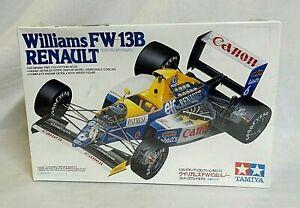 LOOK! 1990 TAMIYA WILLIAMS FW 13B RENAULT G.P. SEALED RACE CAR 1/20 MODEL #20025