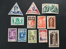 More details for monaco 1951 holy year (annee sainte) lhm set yv353-364 (spm298)