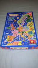 Picture Map Puzzle of Europe JR Jigsaw 🧩 500 piece - Cartoon Style Educational