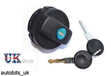 FUEL PETROL LOCKING LOCKABLE TANK FILLER CAP WITH 2 KEYS FOR SKODA FABIA 99-06