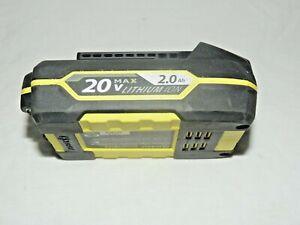 KOBALT 20V MAX LITHIUM ION INTERCHANGEABLE 2.0Ah BATTERY 04/15 MODEL#K20-LB20A