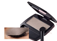 Avon Eye shadow SATIN TAUPE  in black compact with applicator NEW!!