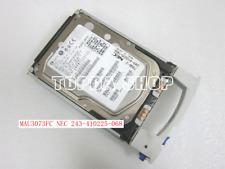 1pc  FUJITSU MAU3073FC NEC 243-410225-068 hard disk 73G 15K FC  3.5 inch #XH