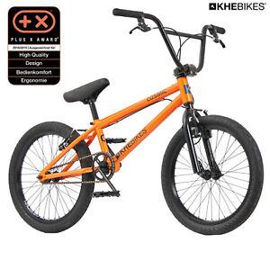 KHE BMX Bicyclette Cosmic Orange 20 Pouces Avec Affix Rotor Seulement 11,1kg