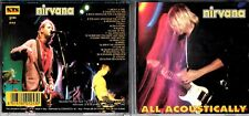 Nirvana cd album (rare Italy release) - All Acoustically
