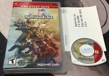 Final Fantasy Tactics The War of the Lions Complete Tested Sony PSP