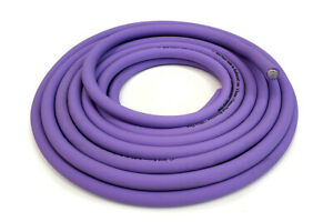 KnuKonceptz KCA NEON PURPLE Ultra Flex 1/0 Gauge Battery Ground Cable Wire 20Ft
