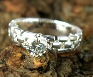925 Silver 2.65 Ct White Diamond Solitaire Proposal Ring-Classic Collection