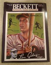 CAL RIPKEN JR. Cover Beckett Baseball Card Monthly SEPTEMBER 1995 #126