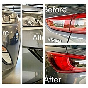 Fits Mazda Cx3 Black Out Tint Kit, F&R Indicaotrs + Reverse Light Die Cut