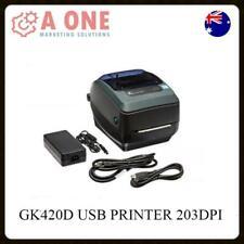 Zebra GK420D Direct Thermal Label Printer 203DPi USB & PARALLEL