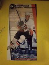 Radek Martinek, New York Islanders Postcard