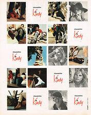 PUBLICITE ADVERTISING 035  1971  KINDY   chaussettes