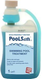 PoolSan CS 1000mL Multifunction Algicide, Flocculent, water conditioner