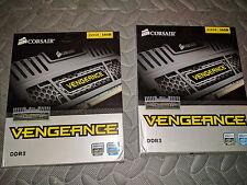 Corsair Vengeance 16GB Dual Channel DDR3 Memory Kit (CMZ16GX3M2A1600C10)