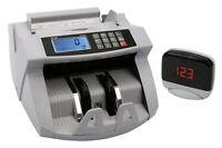 OLYMPIA Geldzählmaschine Geldtester Geldprüfgerät Geldprüfer Geldscheinprüfer