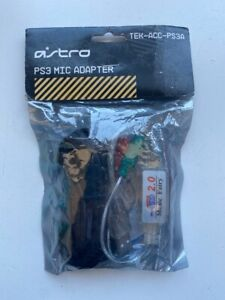 Vintage Astro Gaming PS3 Mic Adapter TEK-ACC-PS3A Retrogaming