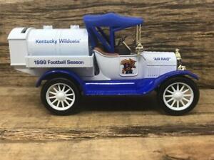 University Kentucky Wildcats UK 1918 Ford Tanker Ertl Ltd Edition Diecast Bank