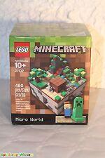 LEGO® Minecraft™ 21102 Micro World - Der Wald - NEU & OVP -