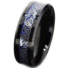 COI Tungsten Carbide Dragon Wedding Band Ring - TG4356