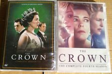 BRAND NEW SEALED THE CROWN COMPLETE SERIES 1-4 (DVD SET) NO RESERVE AUCTION!