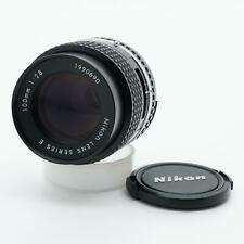 Nikon Series E 100mm F/2.8 AI-S Lens