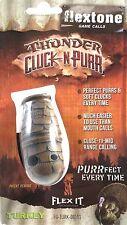 Flextone Thunder Cluck-N-Purr Turkey Call FG-TURK-0059 Gobbler Tom Jake Hen Hunt