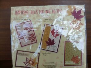 LEAF DIE & EMBOSSING FOLDER IDEAL FOR CARD MAKING AND OTHER CRAFTS